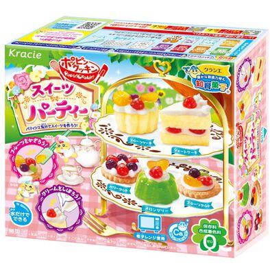Kracie Foods 知育果子系列 英式下午茶套裝diy糖果