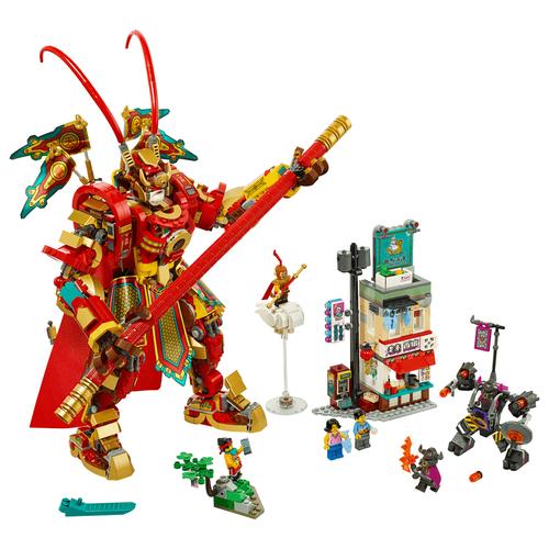 LEGO Monkie Kid 齊天大聖黃金機甲 80012