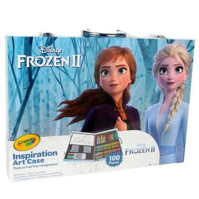 Crayola繪兒樂disney Frozen迪士尼魔雪奇緣2 大藝術家套裝