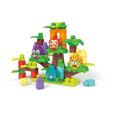 Mega Bloks美高積木first Builders系列叢林樹屋樂隊