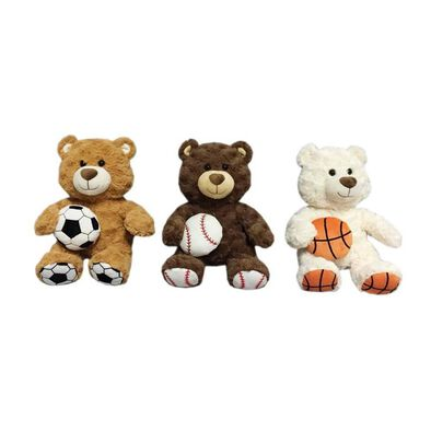 Animal Alley 12 Inch Sports Bear - Assorted