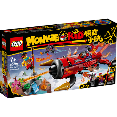 LEGO Monkie Kid Red Son's Inferno Jet - 80019