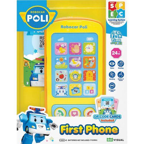 Robocar Poli救援小英雄波力 珀利寶寶小手機