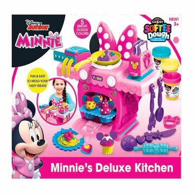 Disney迪士尼 米妮mold N' Play廚房套裝