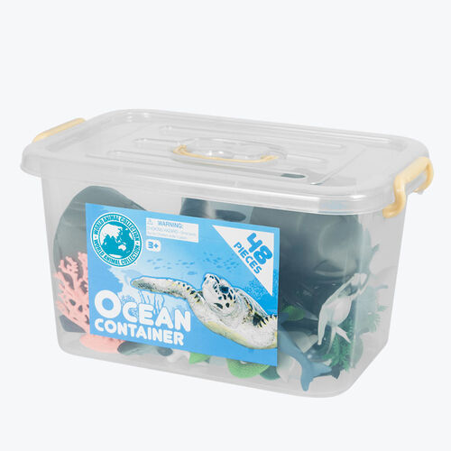 World Animal Collection 大膠箱裝海洋動物組合