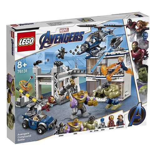 LEGO樂高漫威超級英雄系列 LEGO Marvel Avengers Avengers Compound Battle 76131
