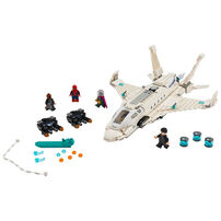 LEGO樂高蜘蛛俠系列 LEGO Marvel Spider-Man Far From Home Stark Jet And The Drone Attack 76130