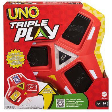 Mattel Games美泰兒遊戲 UNO三重刺激