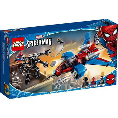 LEGO樂高漫威超級英雄系列 LEGO Marvel Spiderjet Vs. Venom Mech 76150