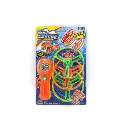 Ja-Ru旋轉飛碟玩具 - 隨機發貨