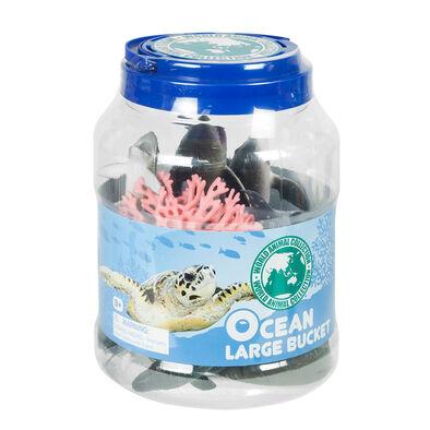 World Animal Collection 大圓桶裝海洋動物組合