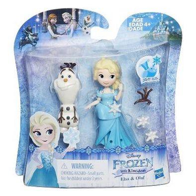 Q版disney Frozen迪士尼魔雪奇緣公主套裝