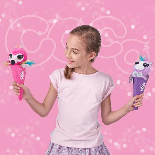 Zuru冰淇淋錐形系列 毛公仔系列第二代 - 隨機發貨