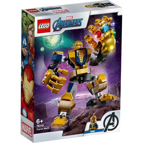 LEGO樂高漫威超級英雄系列 LEGO Marvel Avengers Thanos Mech 76141