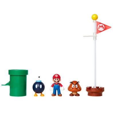Nintendo 任天堂 馬利奧2.5吋公仔平原世界套裝