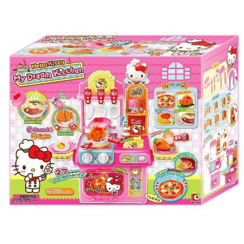 Hello Kitty吉蒂貓廚房系列 我的夢想廚房