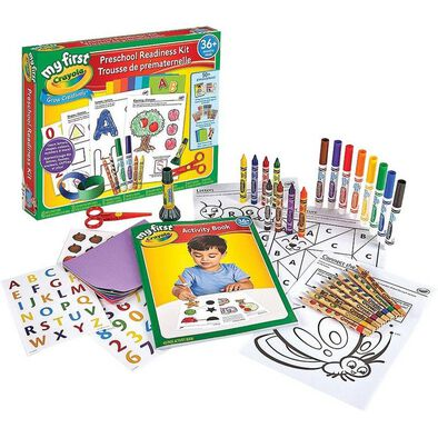 Crayola繪兒樂學前準備套裝