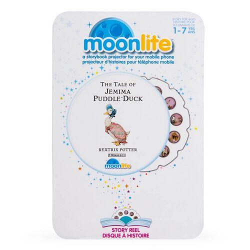 Moonlite月光故事單件幻燈片 母鴨潔瑪的故事