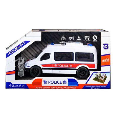 Konsept 1:20 2.4G Rc Hong Kong Eu Police Car