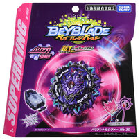 Beyblade爆旋陀螺 擊爆戰魂 B-169 變幻路西法.Mb 2D