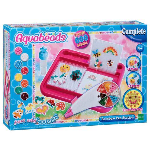 Aquabeads水霧魔珠水串珠彩虹筆套裝