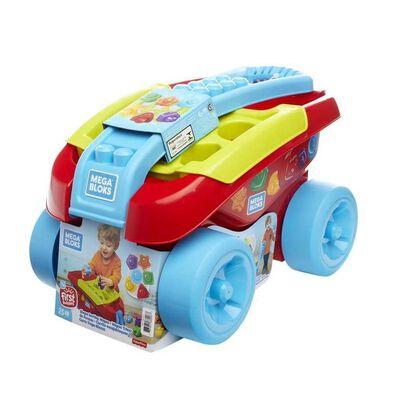 Mega Bloks美高積木first Builders系列形狀分類貨車