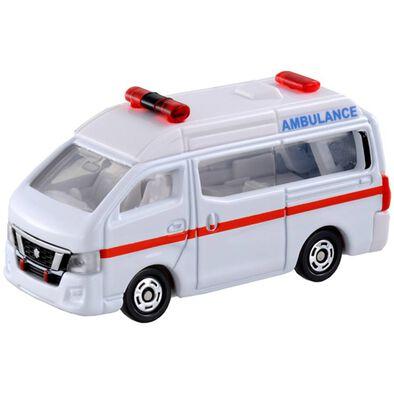 Tomica多美 車仔 Bx018 日產 Nv350 Caravan Ambulance