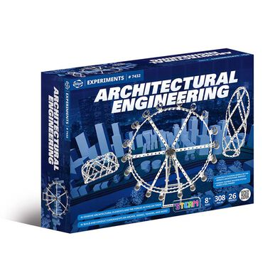 Gigo 科技積木 創新科技系列—結構密碼-曲線結構建築