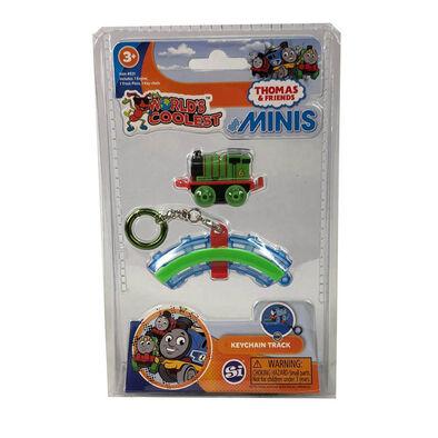 World's Coolest 經典迷你玩具系列湯瑪士小火車迷你版鎖匙扣 - 隨機發貨