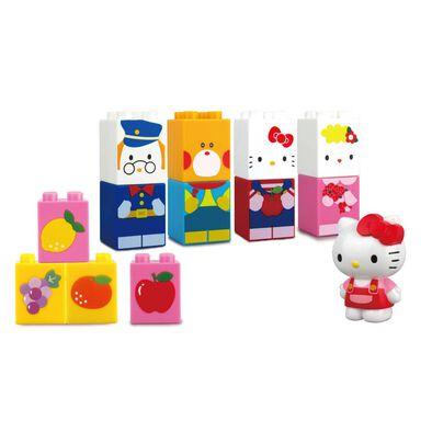 Hello Kitty吉蒂貓 積木系列 - Hello Kitty 和朋友(大積木)