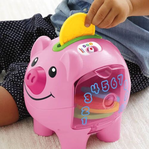Fisher-Price費雪學習豬仔錢箱