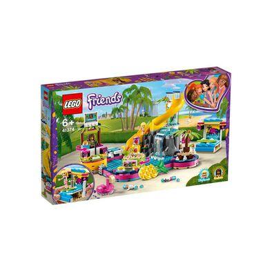 LEGO樂高好朋友系列 Andrea的泳池派對 41374
