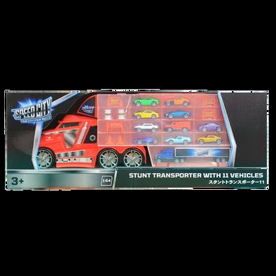 Speed City極速都市  特技運輸車,配有11架車輛