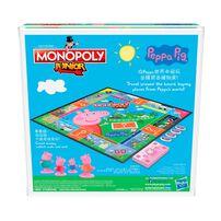 Monopoly大富翁 小小遊樂場 Peppa Pig (中英文版)