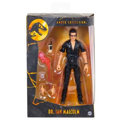Jurassic World侏羅紀世界 Amber Collection Ian Malcolm 博士