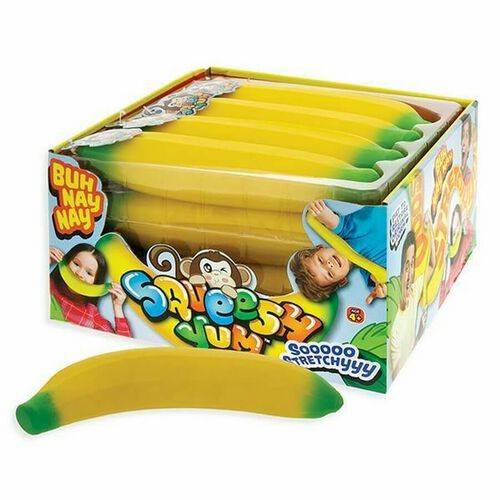 Ja-Ru彈性香蕉玩具