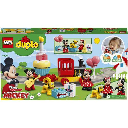 LEGO樂高得寶系列 Mickey & Minnie Birthday Train - 10941