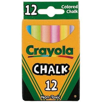 Crayola繪兒樂彩色粉筆12支裝