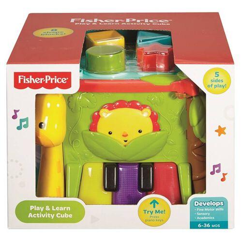 Fisher-Price費雪聲光音樂互動學習箱