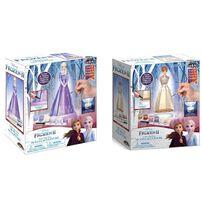 Disney Frozen迪士尼魔雪奇緣 3D染色玻璃雕塑 - 隨機發貨