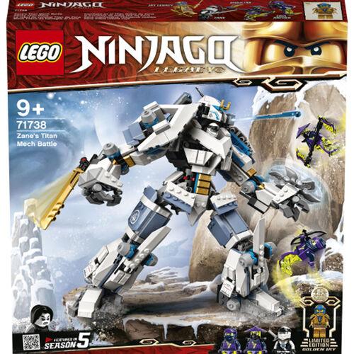 """LEGO Ninjago Zane's Titan Mech Battle - 71738   Toys""""R""""Us ..."""