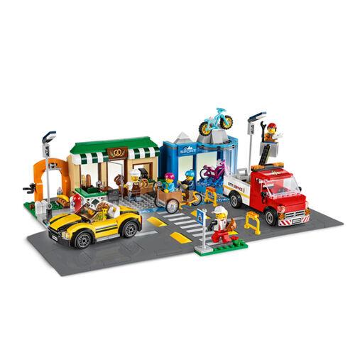 LEGO樂高城市系列 購物街 - 60306