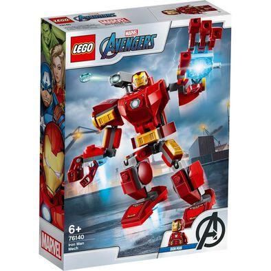 LEGO樂高漫威超級英雄系列LEGO Marvel Avengers Iron Man Mech 76140