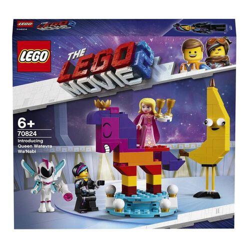 LEGO樂高大電影2系列introducing Queen Watevra Wa'Nabi 70824