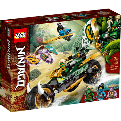 LEGO Ninjago Lloyd's Jungle Chopper Bike - 71745