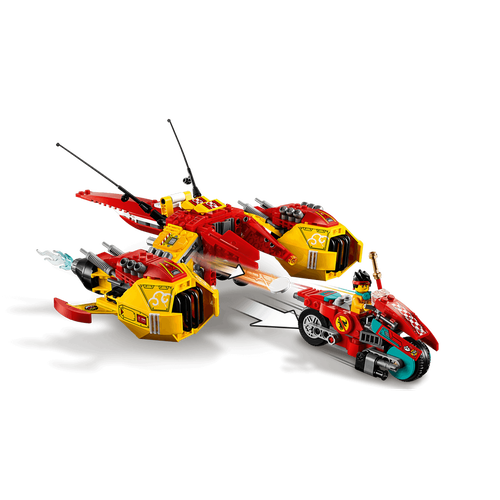 LEGO Monkie Kid 悟空小俠 雲霄戰機 80008