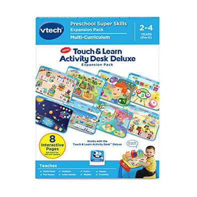 Vtech Touch & Learn Activity Desk Deluxe - Preschool Super Skills