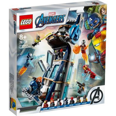LEGO Marvel Avengers Tower Battle 76166