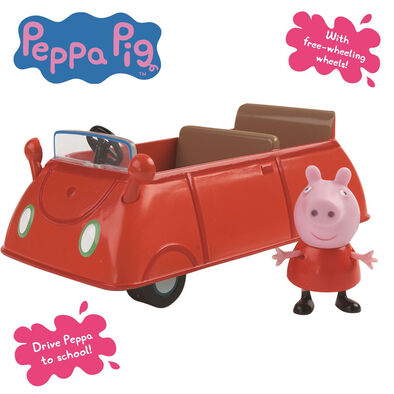 Peppa Pig粉紅豬小妹 -家庭房車(紅色車)