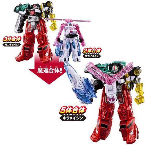 Bandai 魔進機械人系列 01 Dx 煌輝神套裝